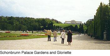 The Schonbrunn Gloriette