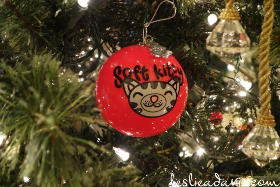 Soft Kitty Ornament