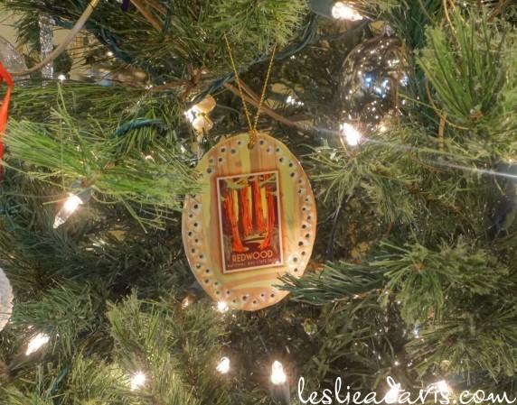 Redwood Ornament