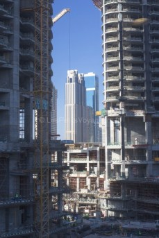 construction de building Dubaï