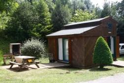 Location Chalet Alpin à les Rives du Lac du Laouzas pour des vacances dans le Tarn, Midi-Pyrénées