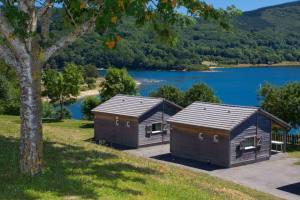 Location Chalets à Les Rives du Lac Laouzas dans les Monts de Lacaune (Tarn, Midi-Pyrénées)