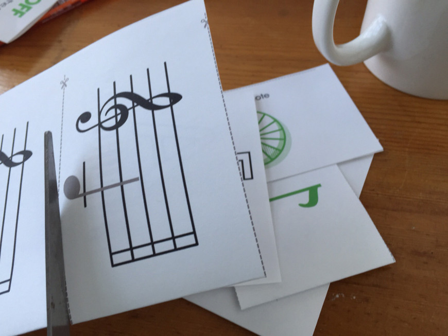 Flash Cards for Learning to Read Music - Free to Download and Print