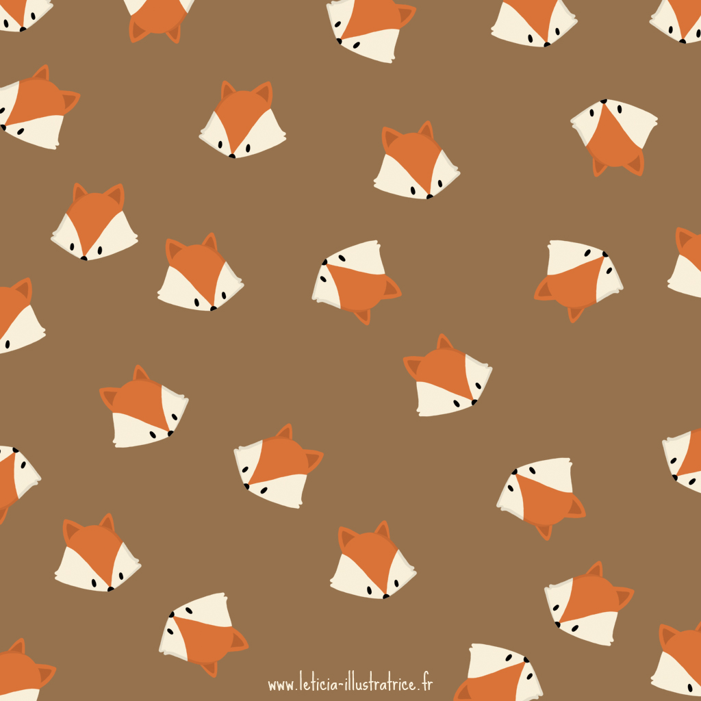 Fall Wallpaper For Android Fond D 233 Cran Renard Leticia Illustratrice Freelance