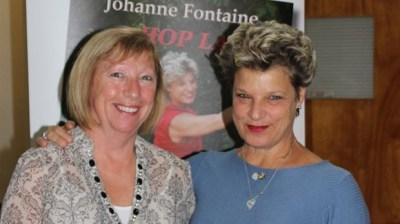 La comédienne Johanne Fontaine de passage à Windsor   Actualités - L'Étincelle