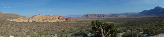 panorama red rock canyon las vegas
