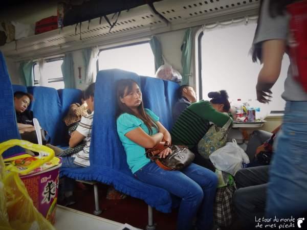 passagers train en chine