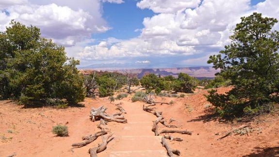 chemin trek Canyonland