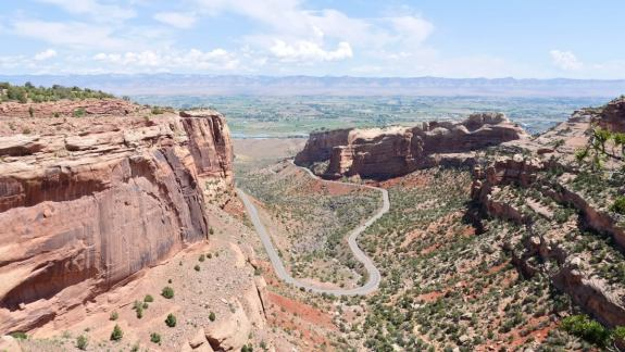 colorado panorama Fruita Canyon