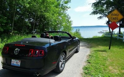road trip ford mustang