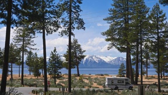 camping car lac tahoe