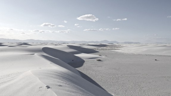 panorama white sands national monument