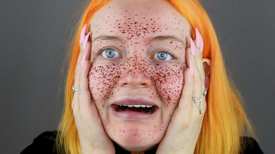 Girl Wallpaper Face Tattoo Un Tuto Make Up Pour Avoir Des Taches De Rousseur Au Henn 233