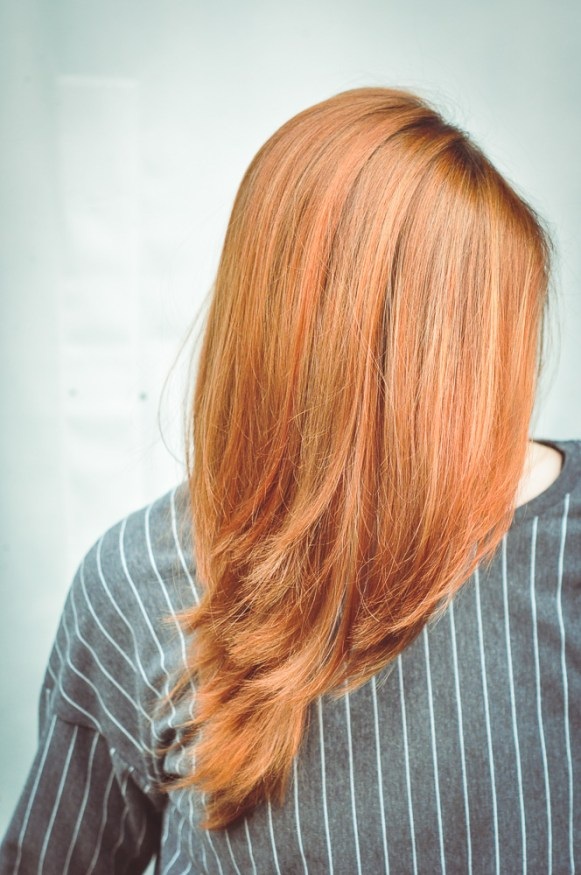 Copper / red hairdo