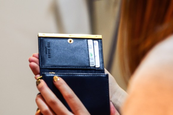 A stylish little wish come true - Ted baker wallet