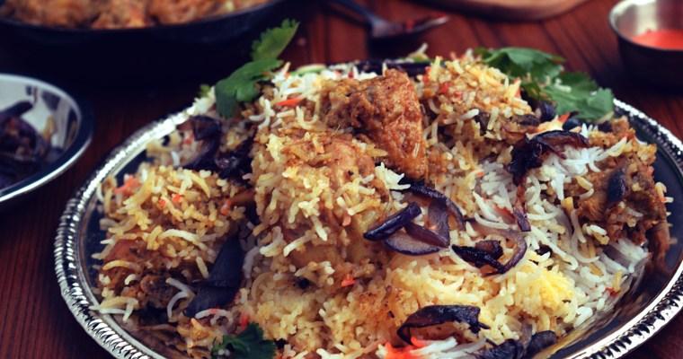 Luckhnowi Chicken Biryani