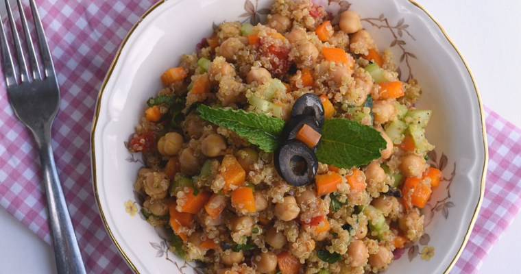 Chickpea, Mint and Quinoa Salad