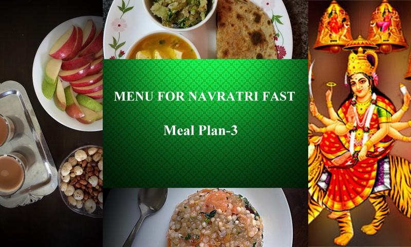 Navratri Fast Meal Plan-3