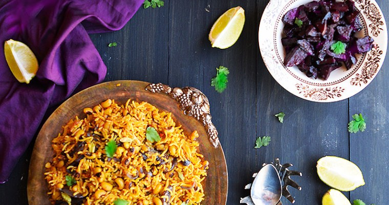 Lobhia Pulao| Black Eyed Beans Rice