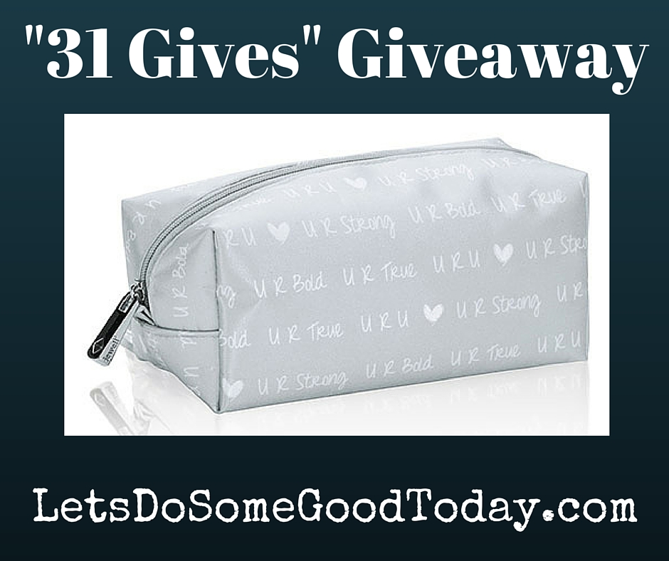 "31 Gives"" Giveaway – Let\'s Do Some Good Today"