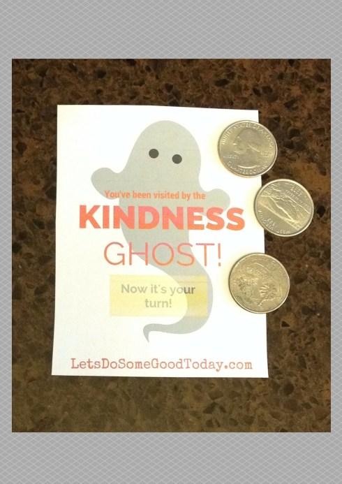 Ghost with quarters