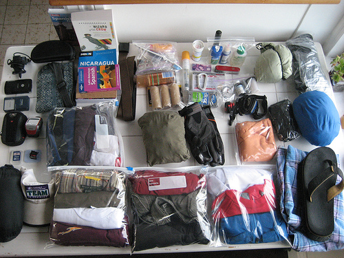 Tips on packing lightly for Business Trips - Business Trip Packing List