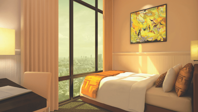 Fame Residences: Bedroom