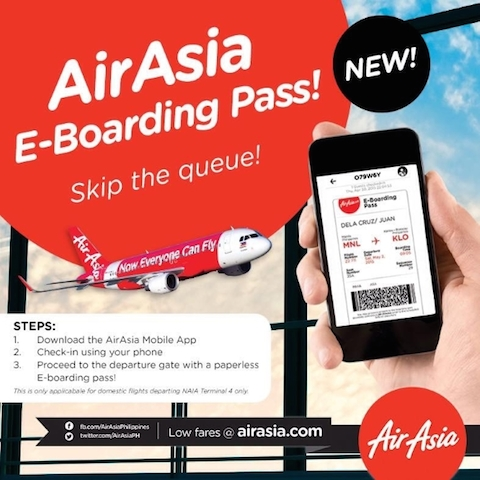 AirAsia E-Boarding Pass