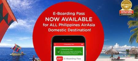 Air Asia E-Boarding Pass