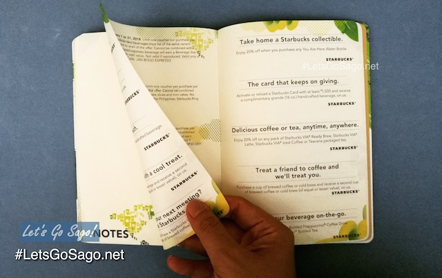 Starbucks Planner Coupons