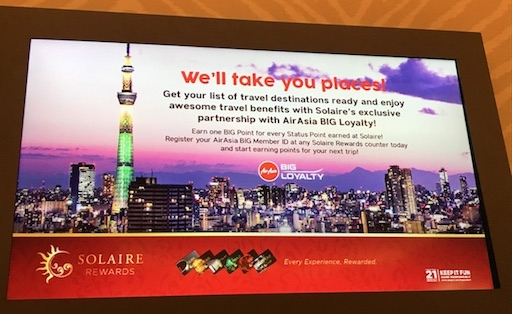 Solaire Rewards Program