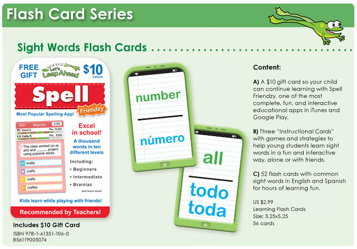 Flashcards Let\u0027s Leap Ahead