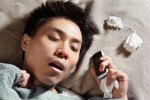 Too tired to text syndrome