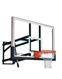 Wall Mount Wm60 Adjustable Basketball Hoop With 60 Inch