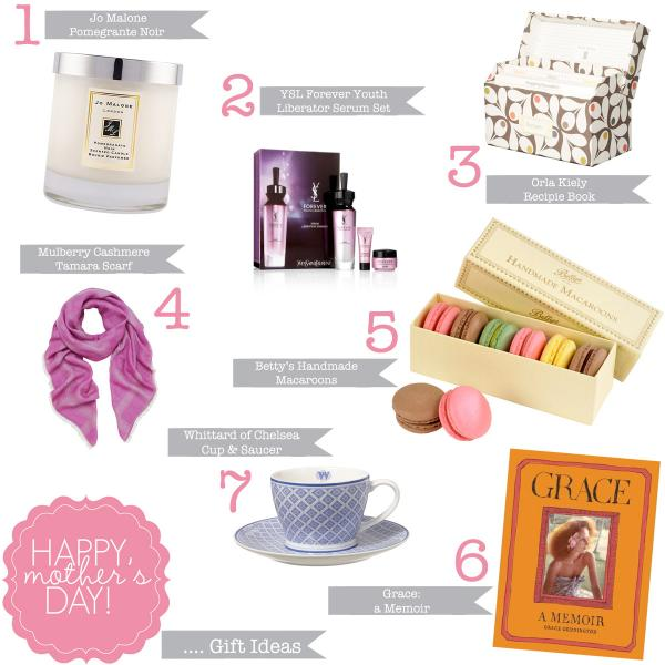 Mother's Day Gift Guide 2013