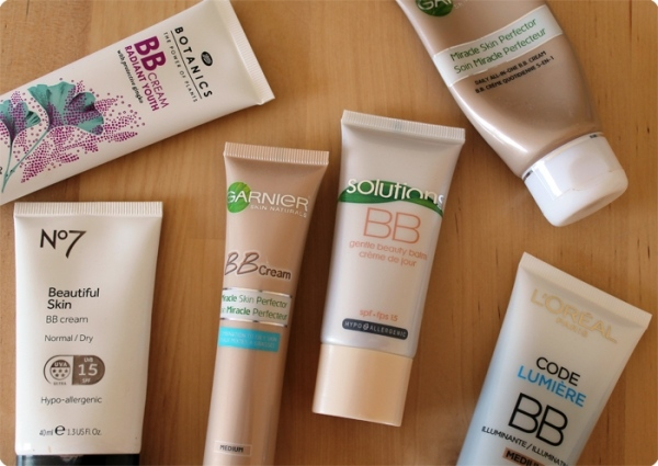 My BB Cream Stash