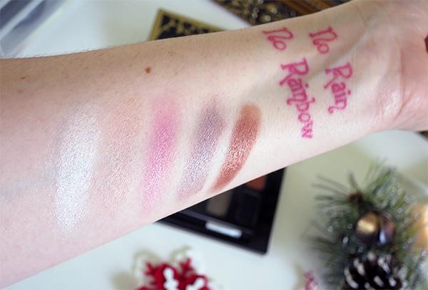 Anna Sui Eyeshadow Swatches