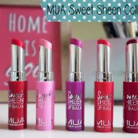 MUA Sweet Sheen Lipbalms