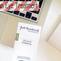 Josh Rosebrook Oculus Eye Treatment
