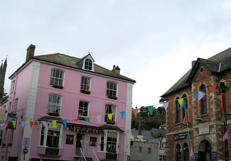 Pink Pub and Bunting