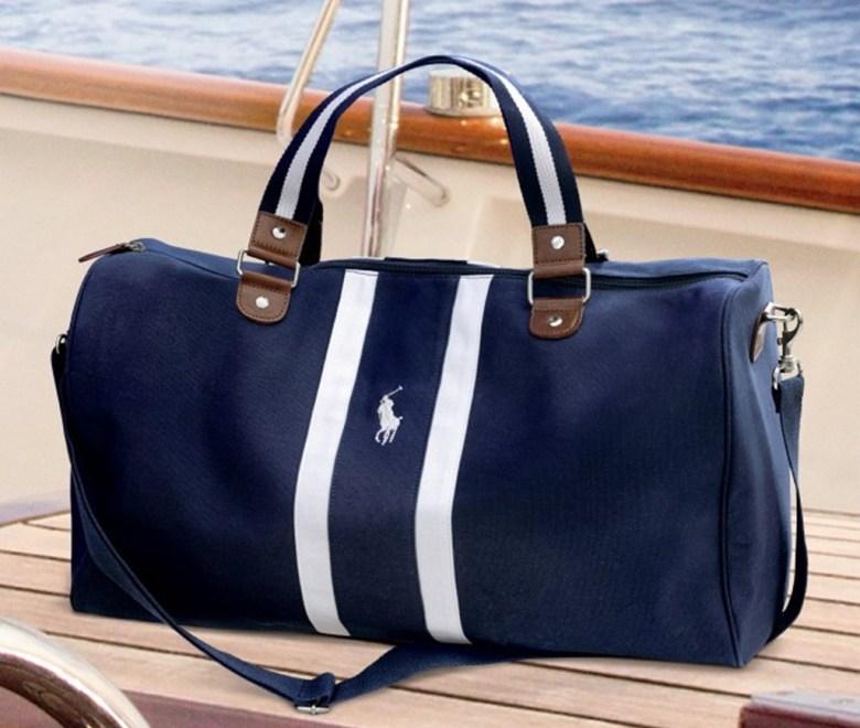 Ralph Lauren Polo Blue Duffle Bag