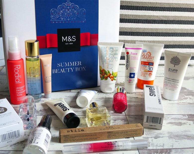 M&S Summer Beauty Box 2016