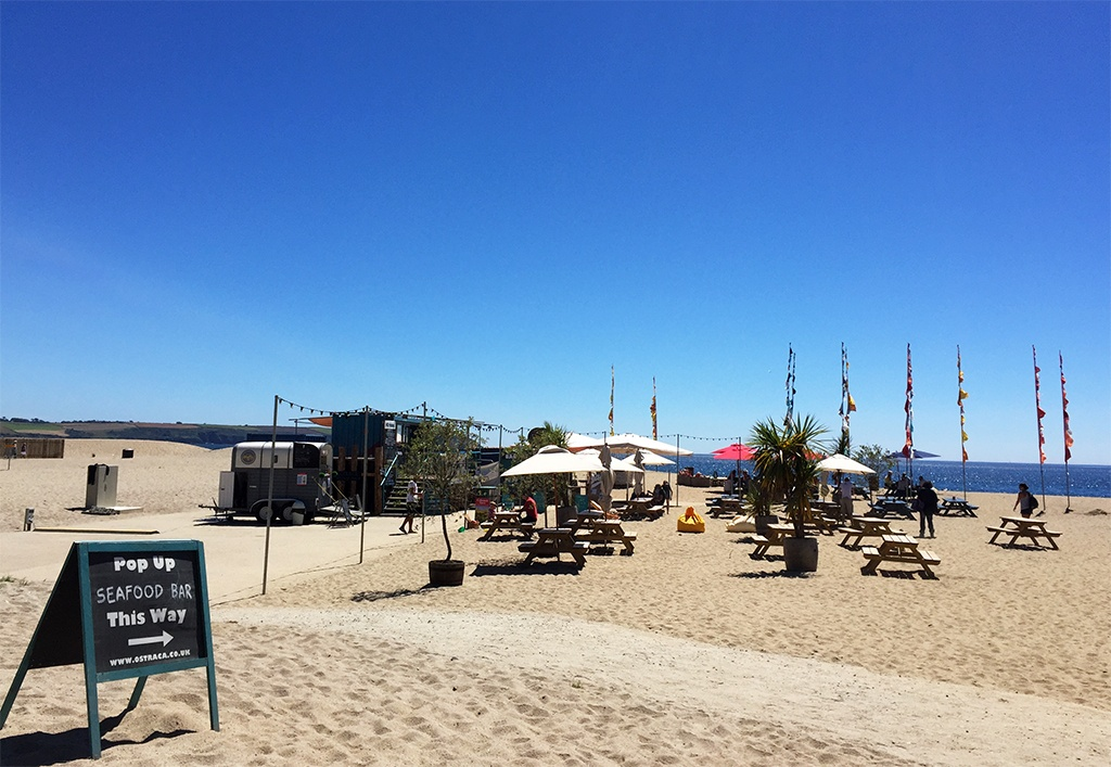 Carlyon Bay Beach Cornwall