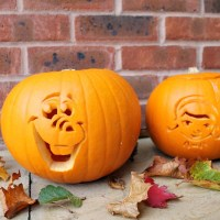 How to carve Olaf & Doc McStuffins Pumpkins & Giveaway