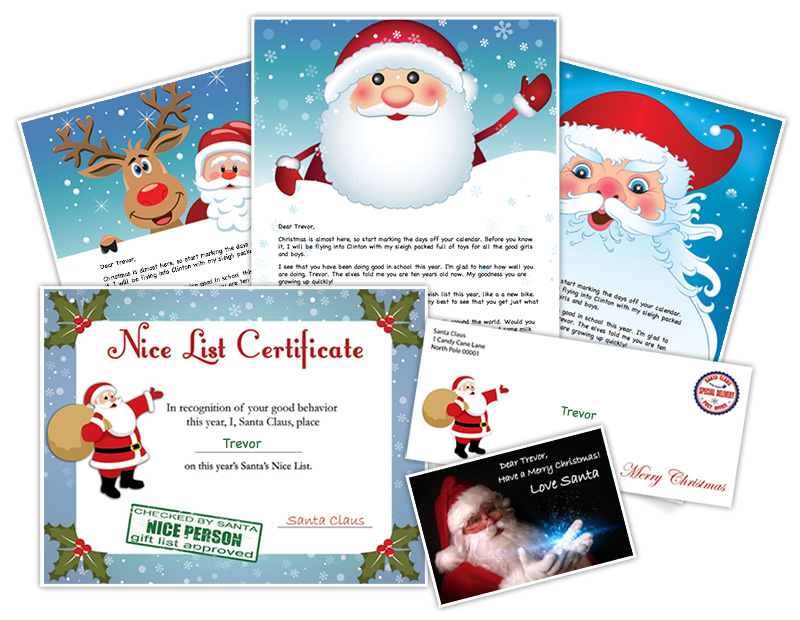 Letter From Santa - Create Personalized Printable Santa Letters