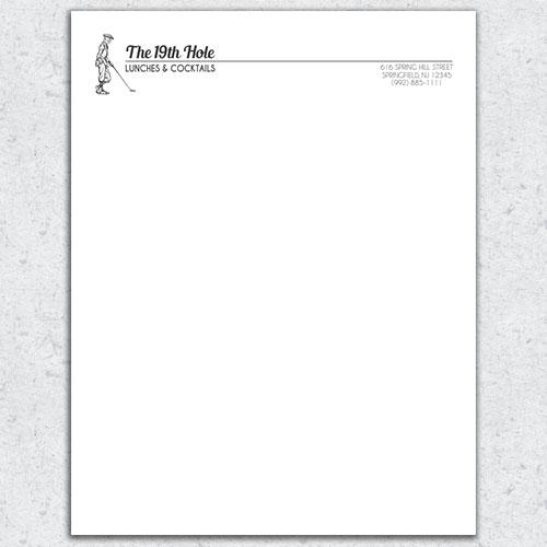 Free Letterhead Template 13 - free letterhead samples