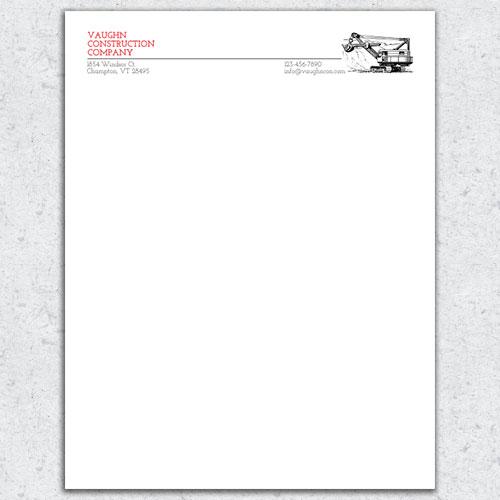 Free Letterhead Template 20 - letterhead layout