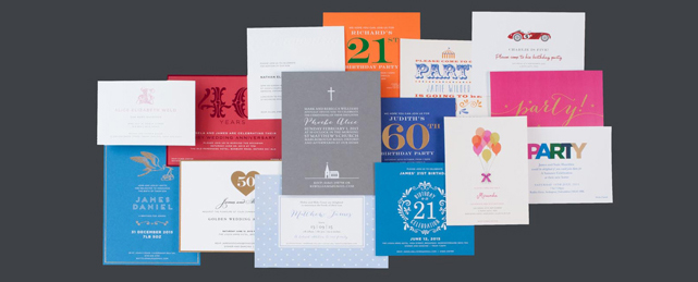 Personalised Social Stationery For Social Occasions The Letter Press