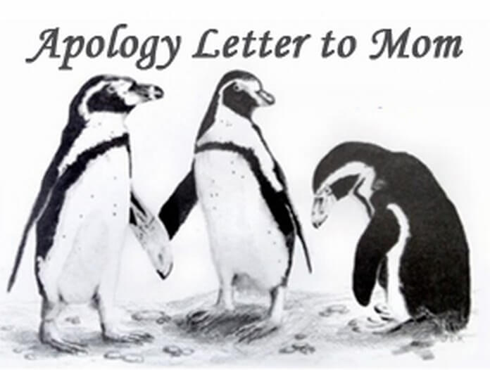 Apology Letter to Mom - Free Letters