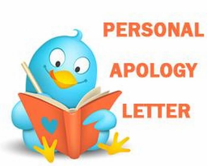 Personal Apology Letter - Free Letters